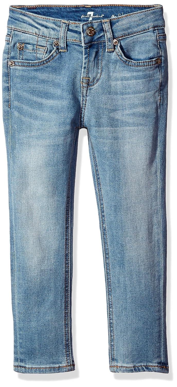 7 For All Mankind Girls The Skinny Stretch Denim Light Vintage Jean