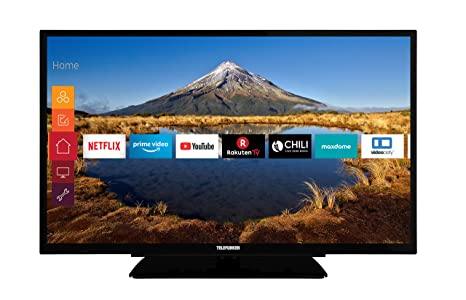 Telefunken XF32G511 81 cm (32 Zoll) Fernseher (Full HD, Triple Tuner, Smart TV, Prime Video)
