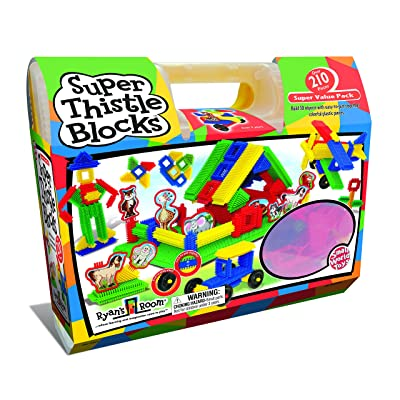 Small World Toys Ryan's Room - Super Thistle Blocks 210 Pc. Set: Toys & Games