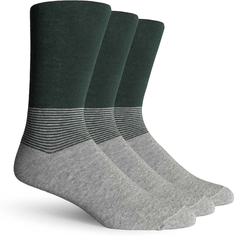 Richer Poorer Mens Lightweight Crew Socks 3 Pairs One Size