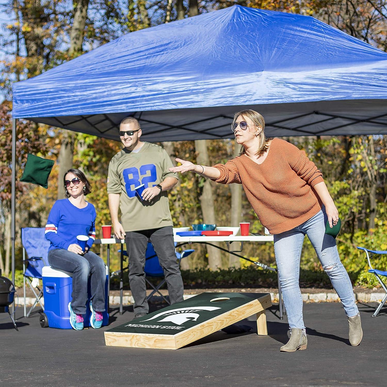Tournament Series Wild Design 2 x 4 Foot Wild Sports NCAA Cornhole Outdoor Game Set