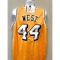Jerry West Los Angeles Lakers Signed Autograph Custom Jersey JSA Witnessed… photo