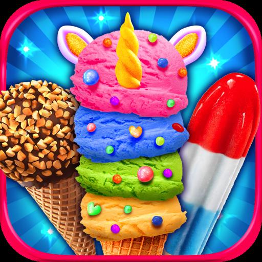 Cream & Ice Popsicles - Kids Frozen Dessert Food Maker Games FREE (Load Pop)