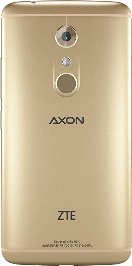 Amazon Com Zte Axon 7 Unlocked Smartphone 64gb Ion Gold Us Warranty