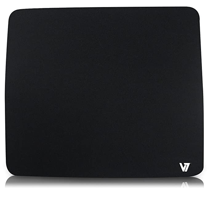 V7 MP01BLK 2NP Mouse Pad   Black Keyboards, Mice   Input Devices