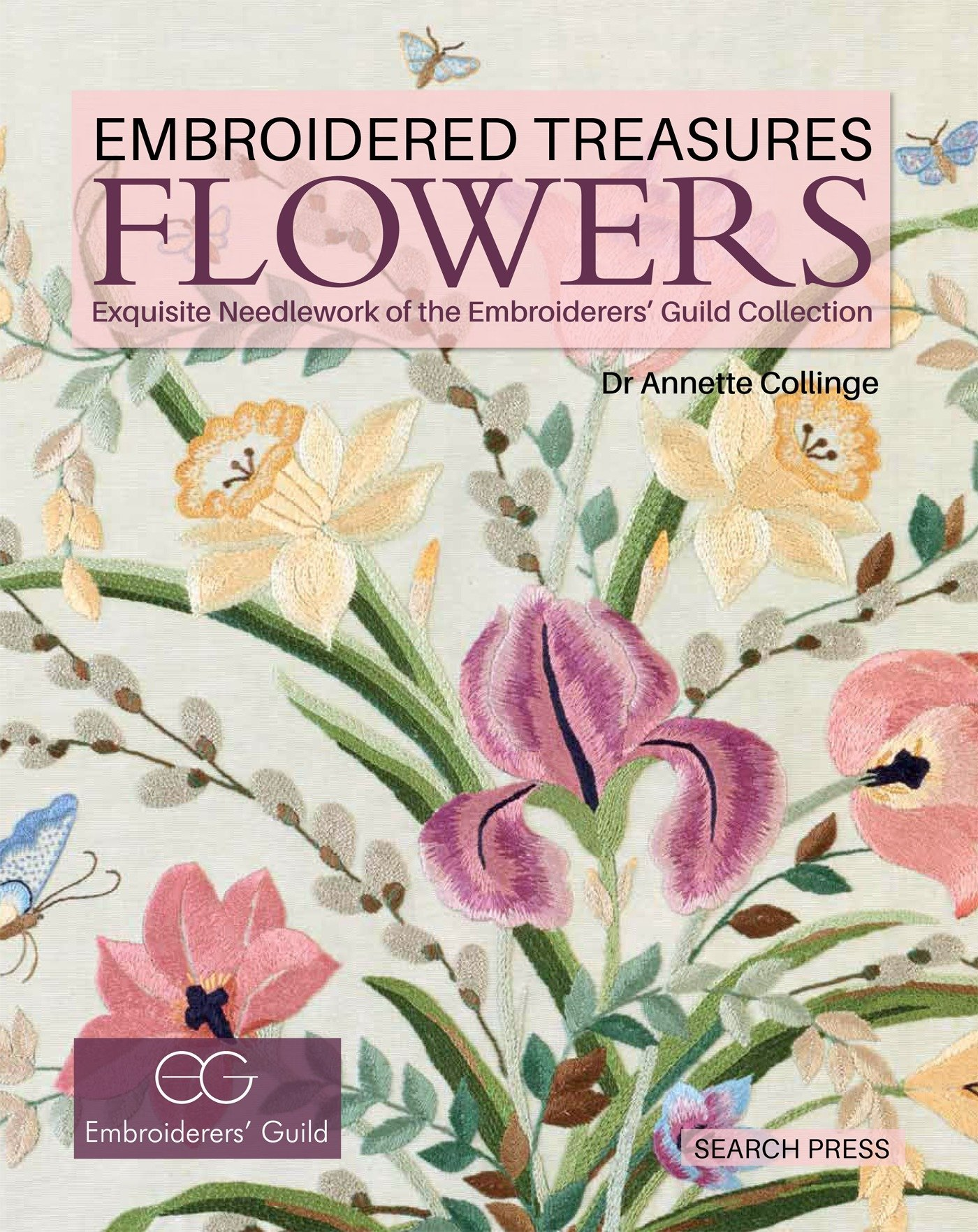 Amazon Embroidered Treasures Flowers Exquisite Needlework Of