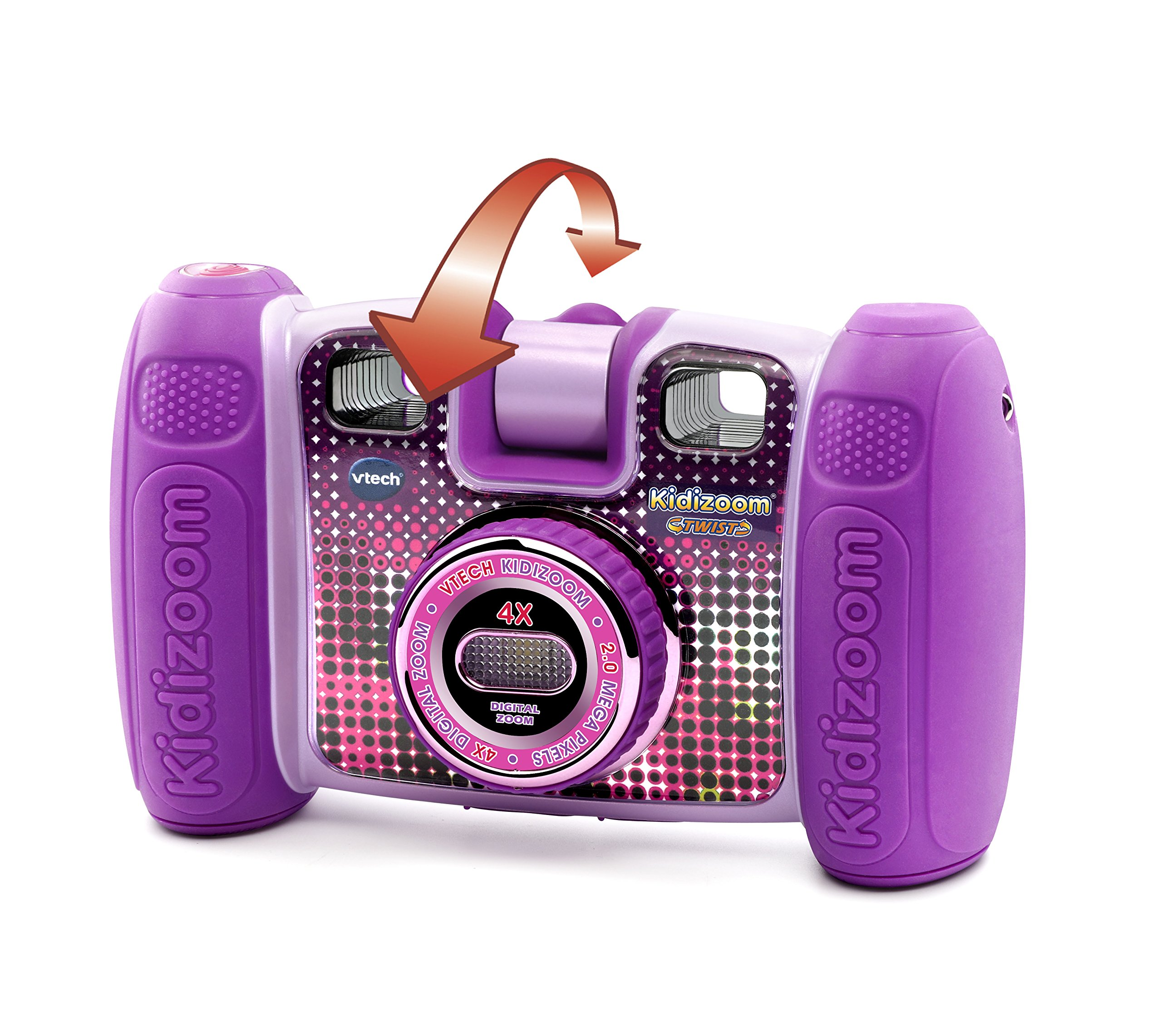 VTech Kidizoom Twist Connect Camera, Purple by VTech (Image #4)