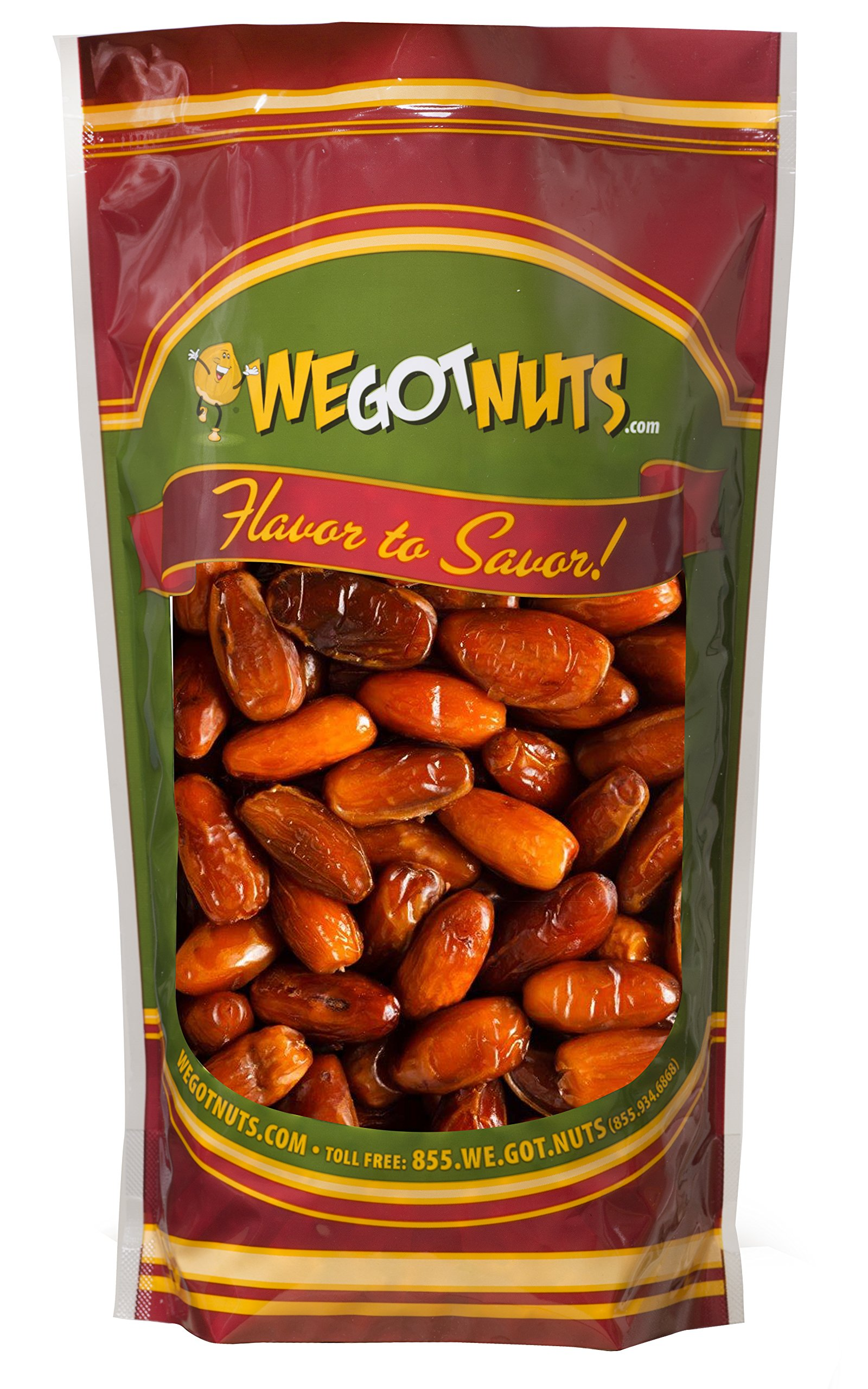 Two Pounds Of Dates Pitted - We Got Nuts