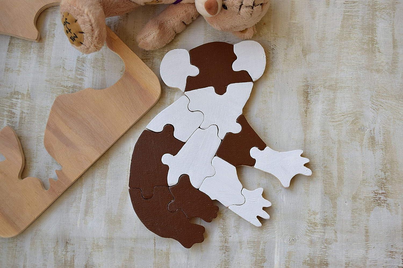 Wood Puzzle Koala Waldorf Toy