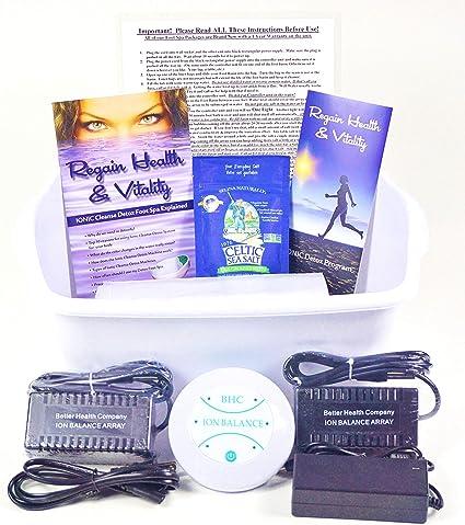 Amazon.com: Ionic pie Cleanse Detox Baño de pies lavadora ...