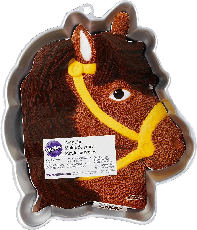 EURO TINS Tete de cheval moule a gateau Moules à forme spécifique