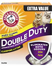 ARM & HAMMER Double Duty Cat Litter, Advanced Dual Odour Control, 18-kg