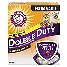 ARM & HAMMER Double Duty Cat Litter, Advanced Dual Odour Control, 18-kg