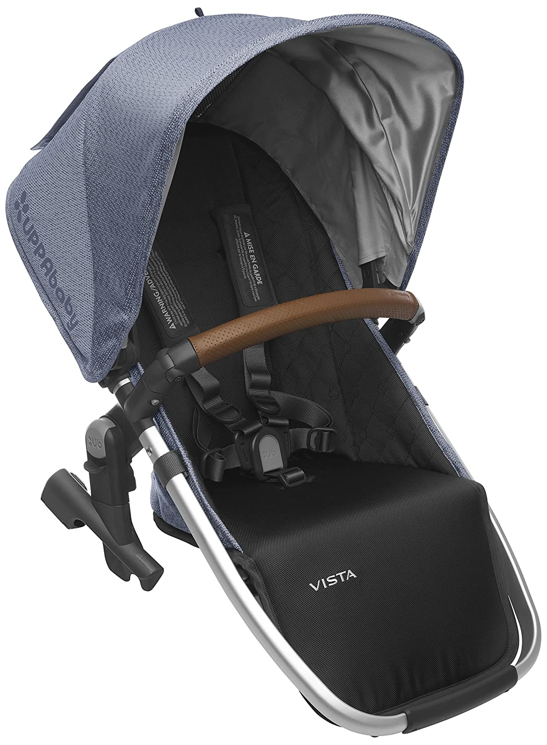 2018 UPPAbaby Vista RumbleSeat-Henry (Blue Marl/Silver/Saddle Leather) 91hsqXbIGGL._SL1500_