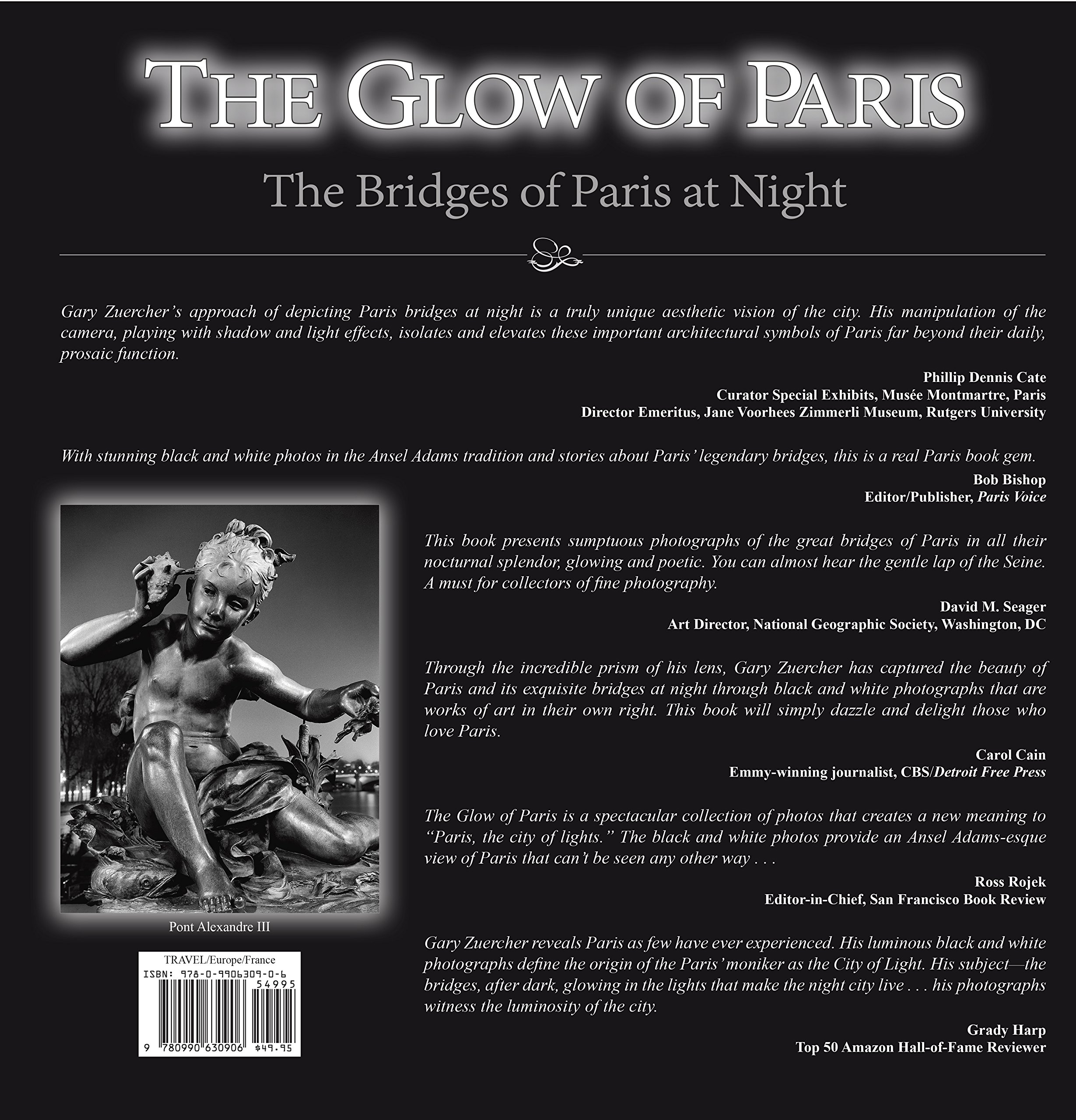 Amazon the glow of paris the bridges of paris at night amazon the glow of paris the bridges of paris at night 9780990630906 gary zuercher books biocorpaavc