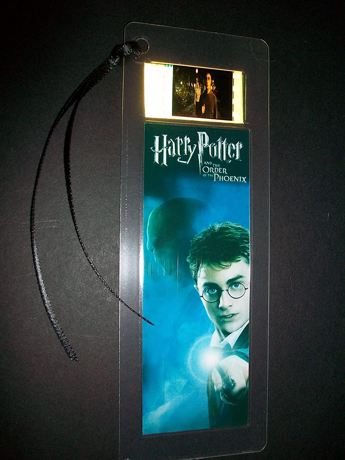 HARRY POTTER Order of the Phoenix Movie Film Cell Bookmark memorabilia