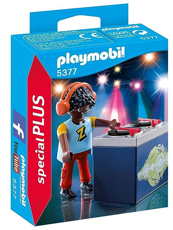 PLAYMOBIL Especiales Plus- DJ Figura con Accesorios, Multicolor ...
