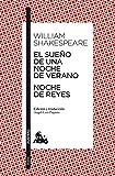 El sueño de una noche de verano/Noche de Reyes (Teatro)