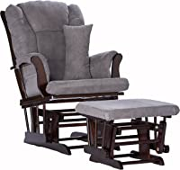 Storkcraft Tuscany Custom Glider and Ottoman with Free Lumbar Pillow Espresso/Grey  sc 1 st  Amazon.com & Amazon Best Sellers: Best Glider Chairs Ottomans u0026 Rocking Chairs