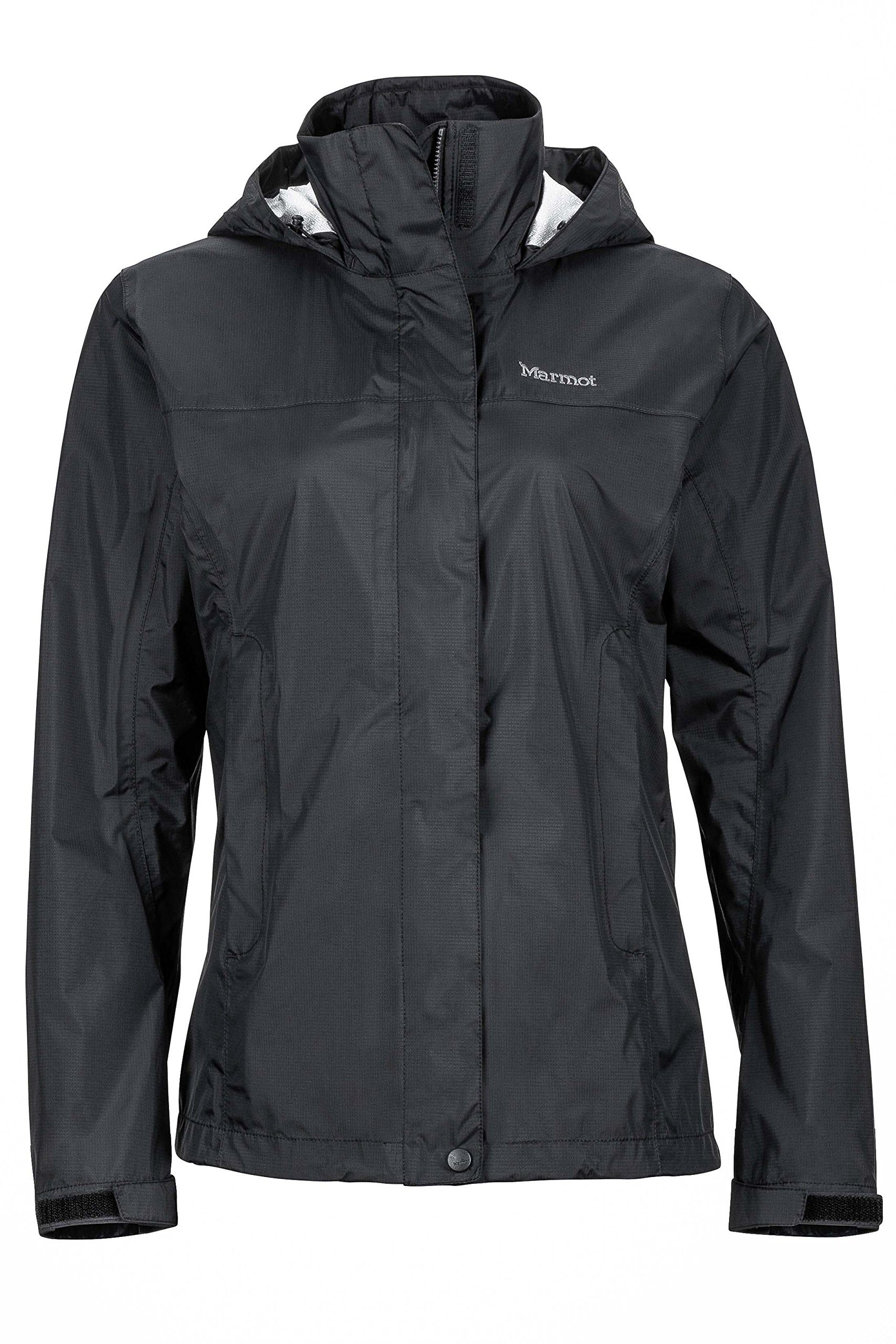 Marmot PreCip Women's Lightweight Waterproof Rain Jacket, Black, X-Large by Marmot