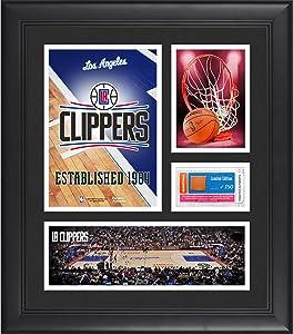 LA Clippers Team Logo Framed 15