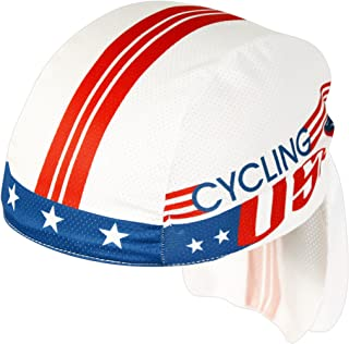 product image for Pace Sportswear Coolmax Cycling Usa Skull Cap