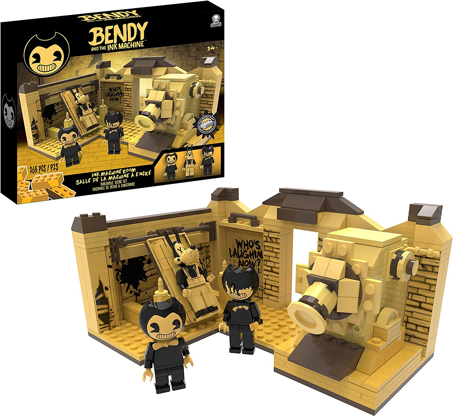 Bendy and the Ink Machine - Room Scene (265 pieces)