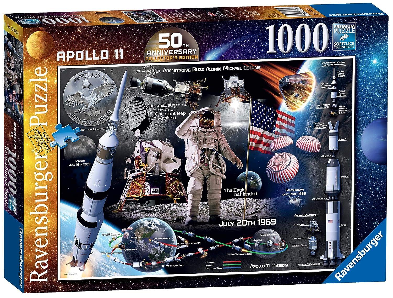 Ravensburger 50e anniversaire Lune atterrissage Apollo 11 1000pc Puzzle