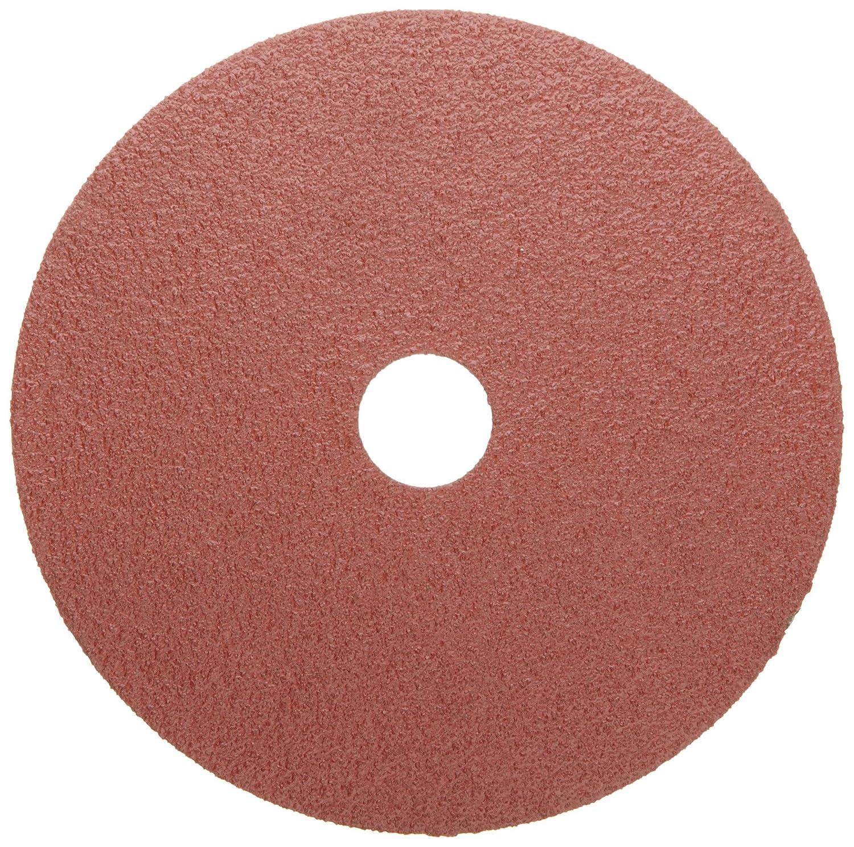 Weiler Tiger Resin Fiber Disc, Aluminum Oxide, Fiber Backing, 5/8' Arbor, 4' Diameter, 24 Grit 5/8 Arbor 4 Diameter Weiler Corporation 59491