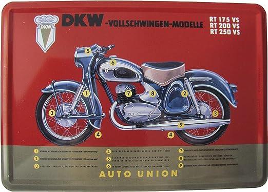 Nostalgic-Art Plaque en Metal 10 x 14 cm Best Garage Red