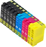 【ノーブランド品】(11 色セット) Epson IC4CL69,IC69 ICBK69, ICC69, ICM69, ICY69 PX-045A, PX-046A, PX-105, PX-405A, PX-435A, PX-436A, PX-505F, PX-535F 【互換インクカートリッジ 】