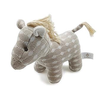 Kiyi-Gift Bebé Juguete | adorable Juguete de Peluche de Caballo | Algodón Orgánico Suave