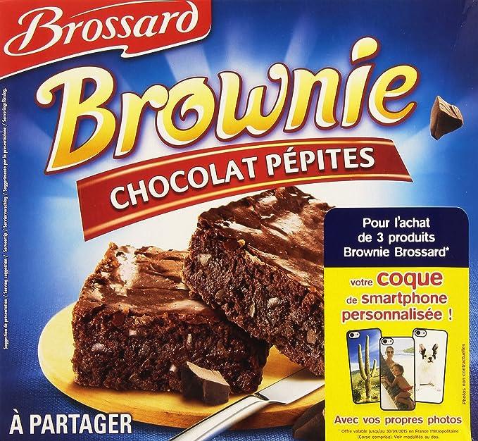 Brossard - Brownie à partager Brossard Chocolats pépites 285g