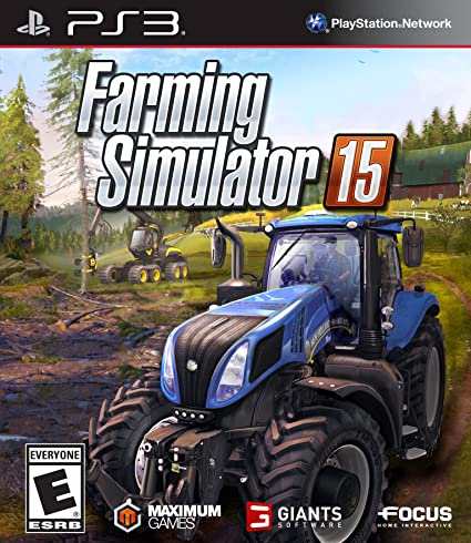 Amazon com: Maximum Games Farming Simulator 15 - PlayStation 3: Sony