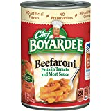 Chef Boyardee Beefaroni, Macaroni with Beef in Tomato Sauce, 15 oz