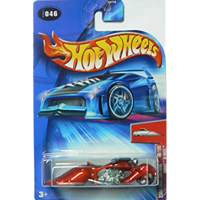 Hot Wheels 2004 First Edition Crooze W-oozie Motorcycle #46 046 46/100 1:64 Scale: Toys & Games