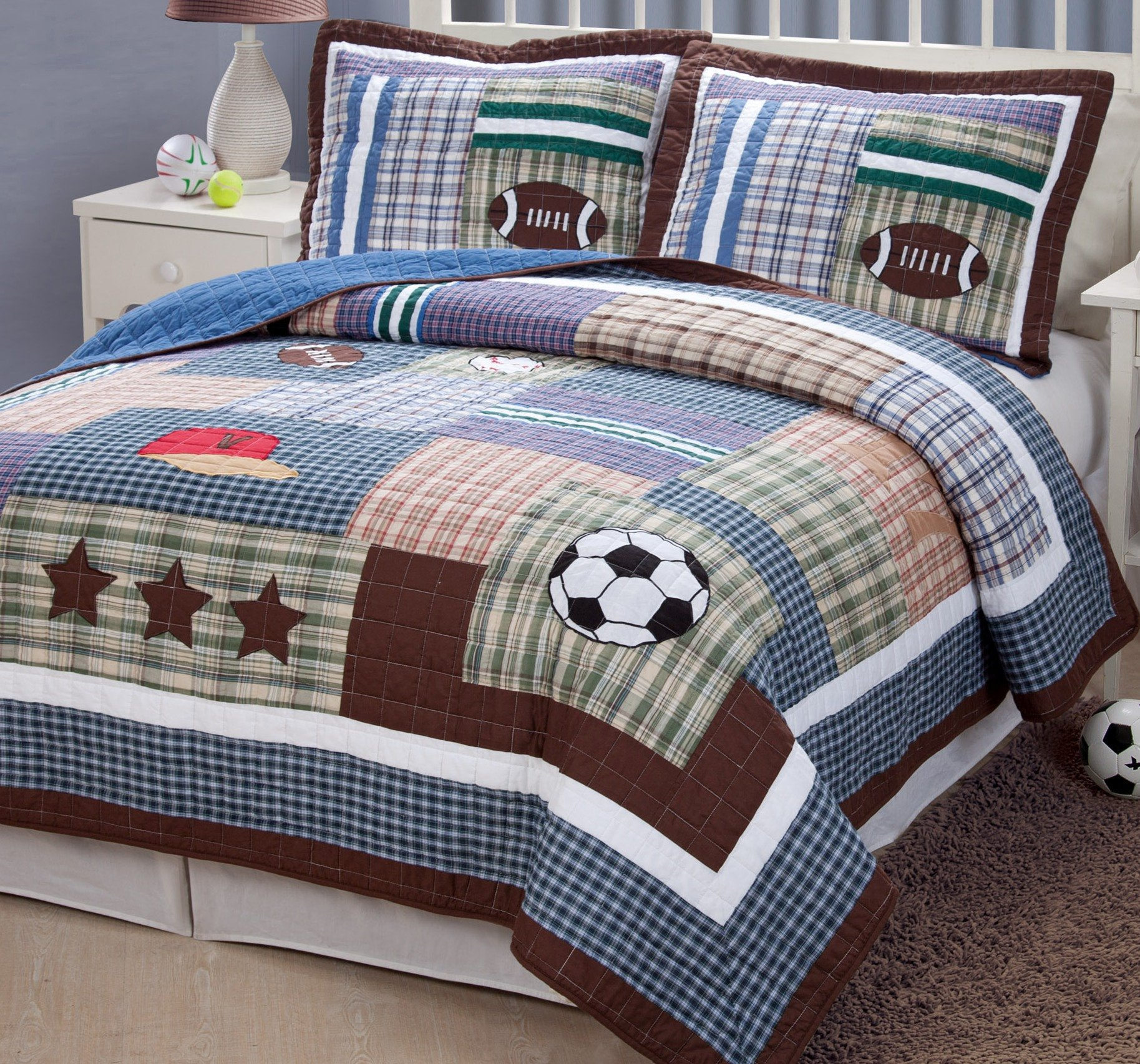 PEM America Field Sports 2 piece Twin Quilt Set by My World