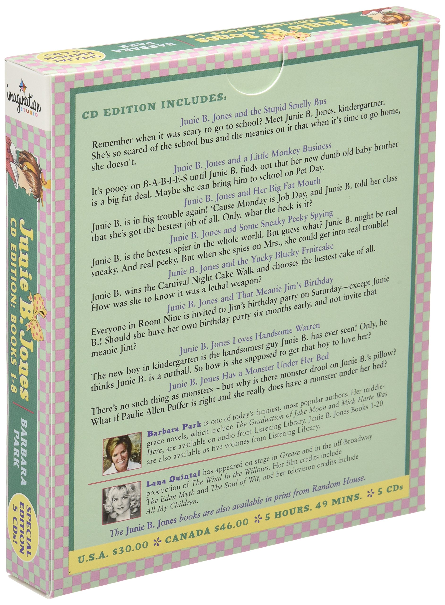 Junie B. Jones Audio Collection, Books 1-8 by Imagination Studio (Image #2)