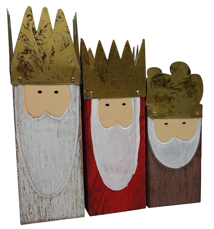 Portavelas de Navidad khevga soulcats 3er Set