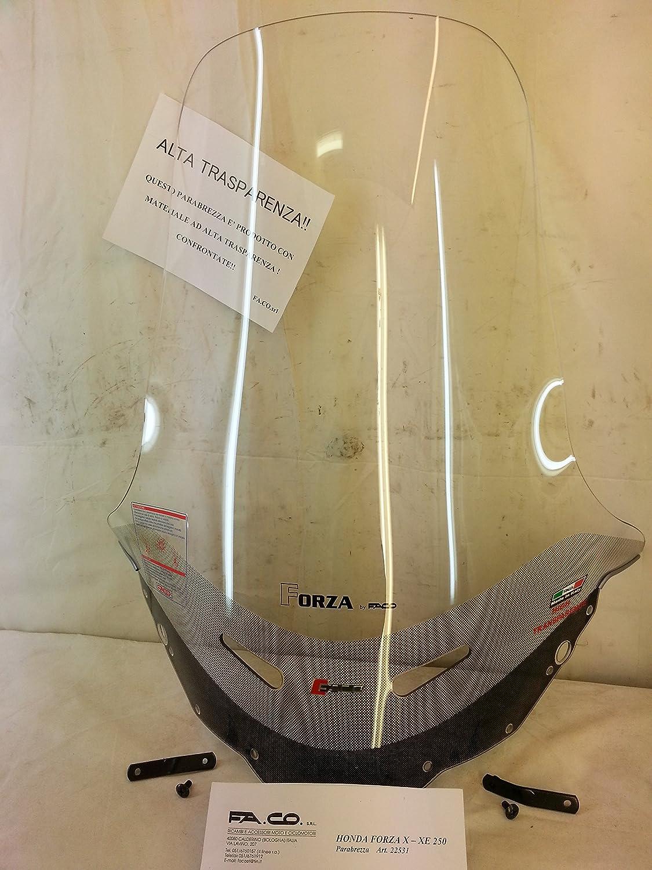 SC2606 PARABREZZA CUPOLINO ISOTTA COMPATIBILE CON HONDA FORZA 250 2005 2007