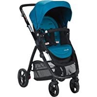 Safety 1st Visto 4 Wheel Stroller with Reversible Seat suitable for Newborns, Horizon Blue