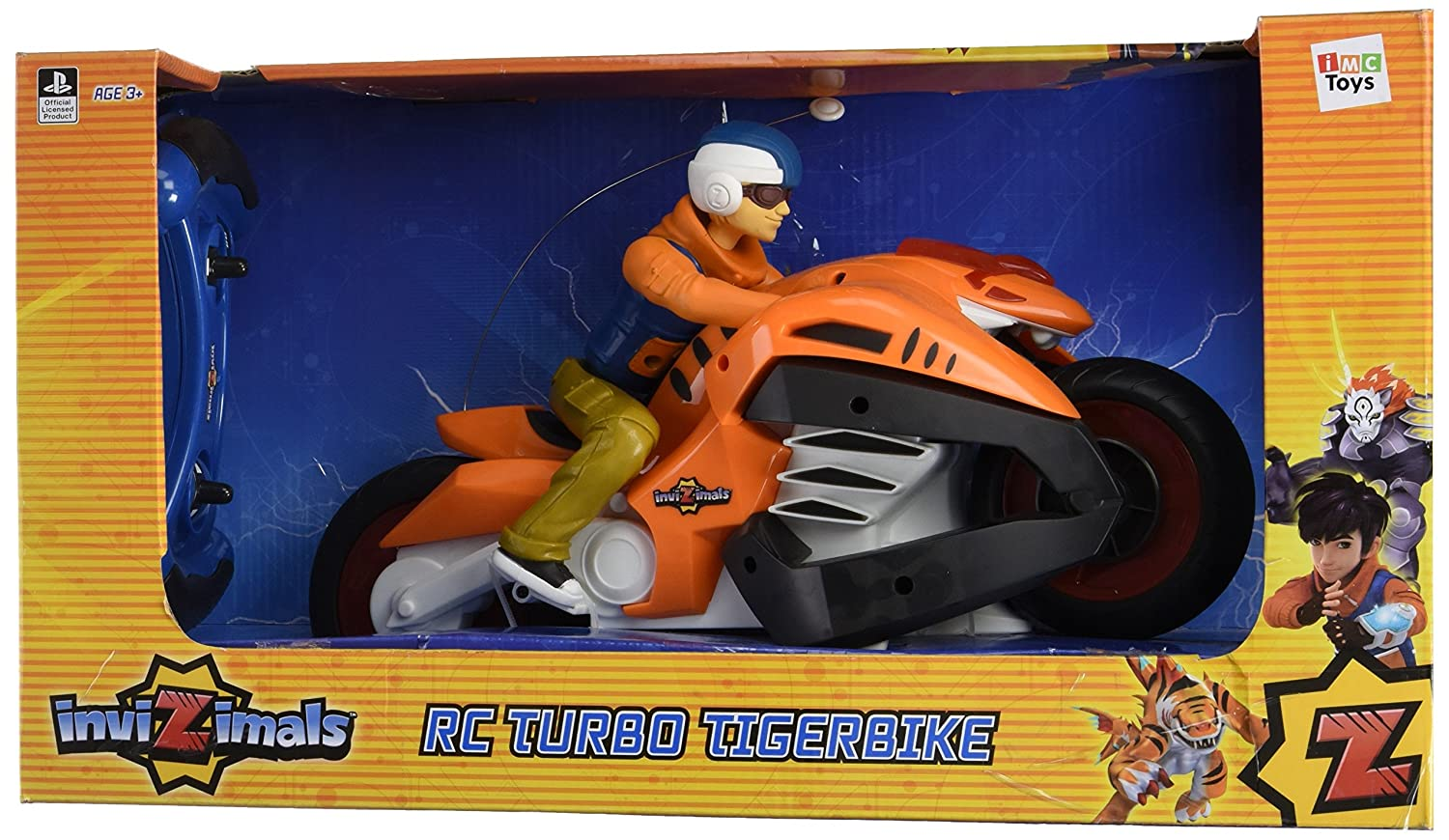 Invizimals - Turbo Tigerbike, Moto radiocontrol (IMC Toys S.A.): Amazon.es: Juguetes y juegos