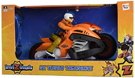 Invizimals - Turbo Tigerbike, Moto radiocontrol (IMC Toys S.A.)