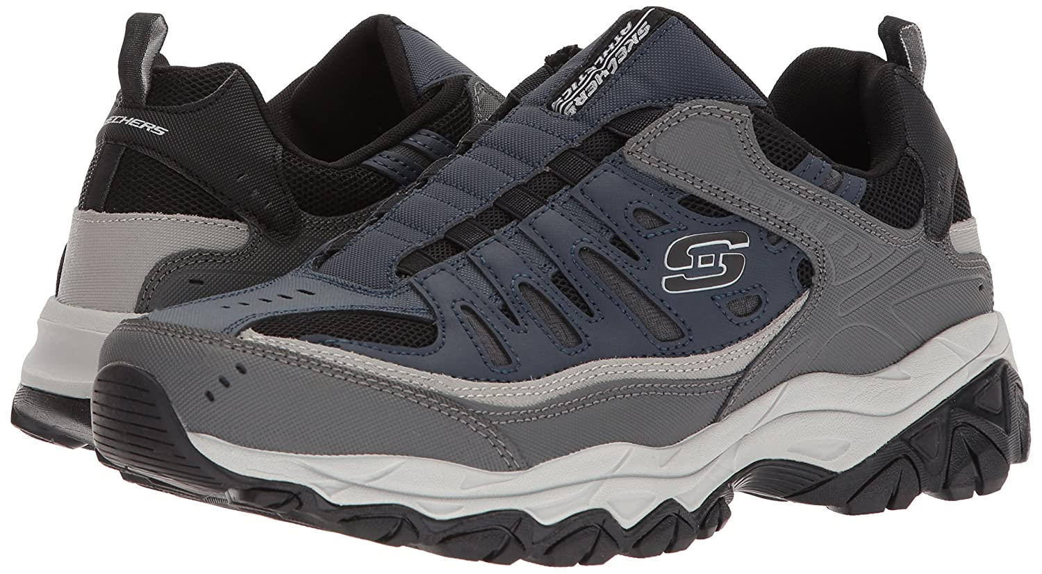 Skechers-Afterburn-Memory-Foam-M-Fit-Men-039-s-Sport-After-Burn-Sneakers-Shoes thumbnail 70