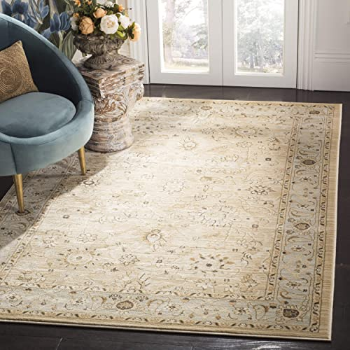 Safavieh Florenteen Collection FLR125-1280 Traditional Oriental Ivory and Grey Area Rug 5 1 x 7 7