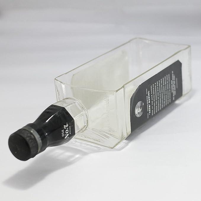 JACK DANIELS WHISKEY botella terrario/cuenco reciclado/maceta ...