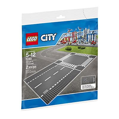 LEGO City Supplementary Straight & Crossroad 7280 Plates, Best Toys: Toys & Games