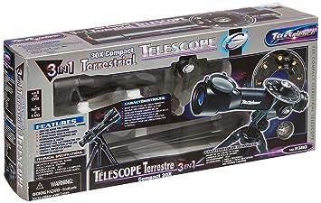Kinder teleskop fernrohr mit stativ kompass 30 fach: amazon.de