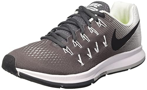new arrival c3def 10890 NIKE Women s Air Zoom Pegasus 33 Dark Grey Black White Running Shoe 5.5  Women