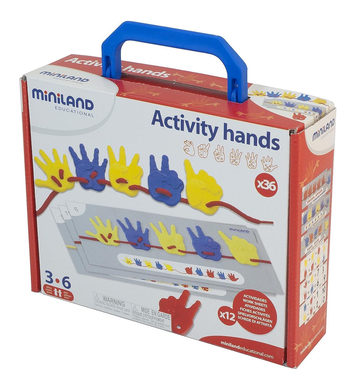 Miniland Activity Hands piezas maleta surtido: colores aleatorios